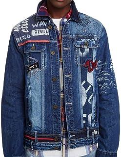 low priced 754fd d6f33 Amazon.it: Desigual - Giacche e cappotti / Uomo: Abbigliamento