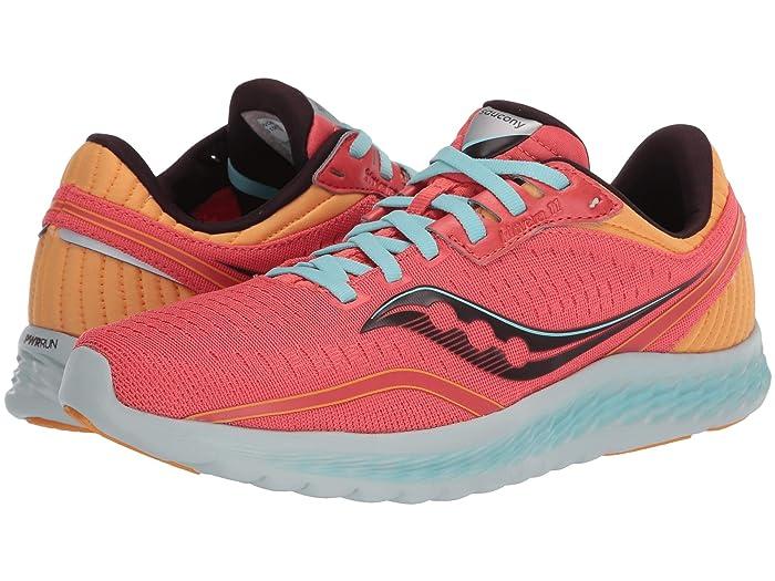 Saucony  Kinvara 11 (Coral) Womens Shoes