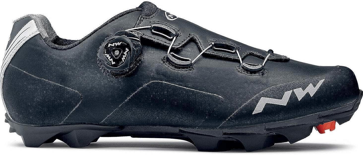 NORTHWADE Unisex Cycling Sneaker, Black, 11.5 US Men
