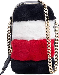 Tommy Hilfiger Idol Mini Crossover Fur Handbag