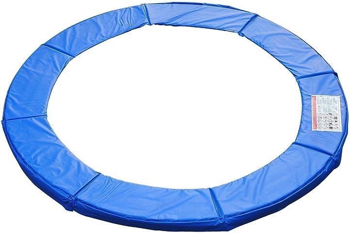 Bordo di protezione per trampolino elastico giaridno in pvc homcom- copertura per trampolino elastico 120307-002