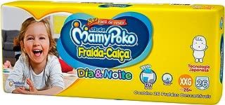 Fralda-Calça Dia & Noite MamyPoko Tamanho XXG, Pacote com 26 unidades