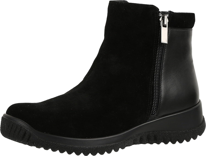 Drew Shoes Kool 19178 Women's Casual Boot: Black/Combo 13 Medium