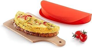 Lekue Omelette Maker, Model # 3402700R10U008, Red