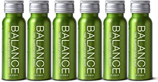 Green Superfood Shot, Organic Fruits, Root Vegetables, Kale & More, 2oz Daily Green Drink to Take on The Go, Smoothie Juice Cleanse, Vegan, Gluten-Free (6 Pack)