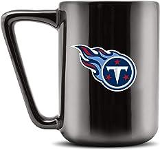 Duck House NFL TENNESSEE TITANS Ceramic Coffee Mug - Metallic Black, 16oz