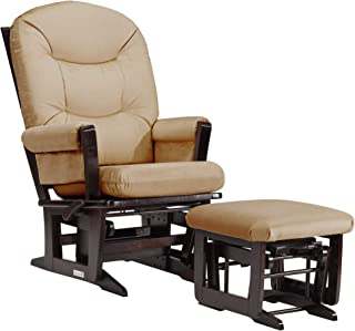 Dutailier Modern 0382 Glider Multiposition-Lock Recline with Ottoman Included