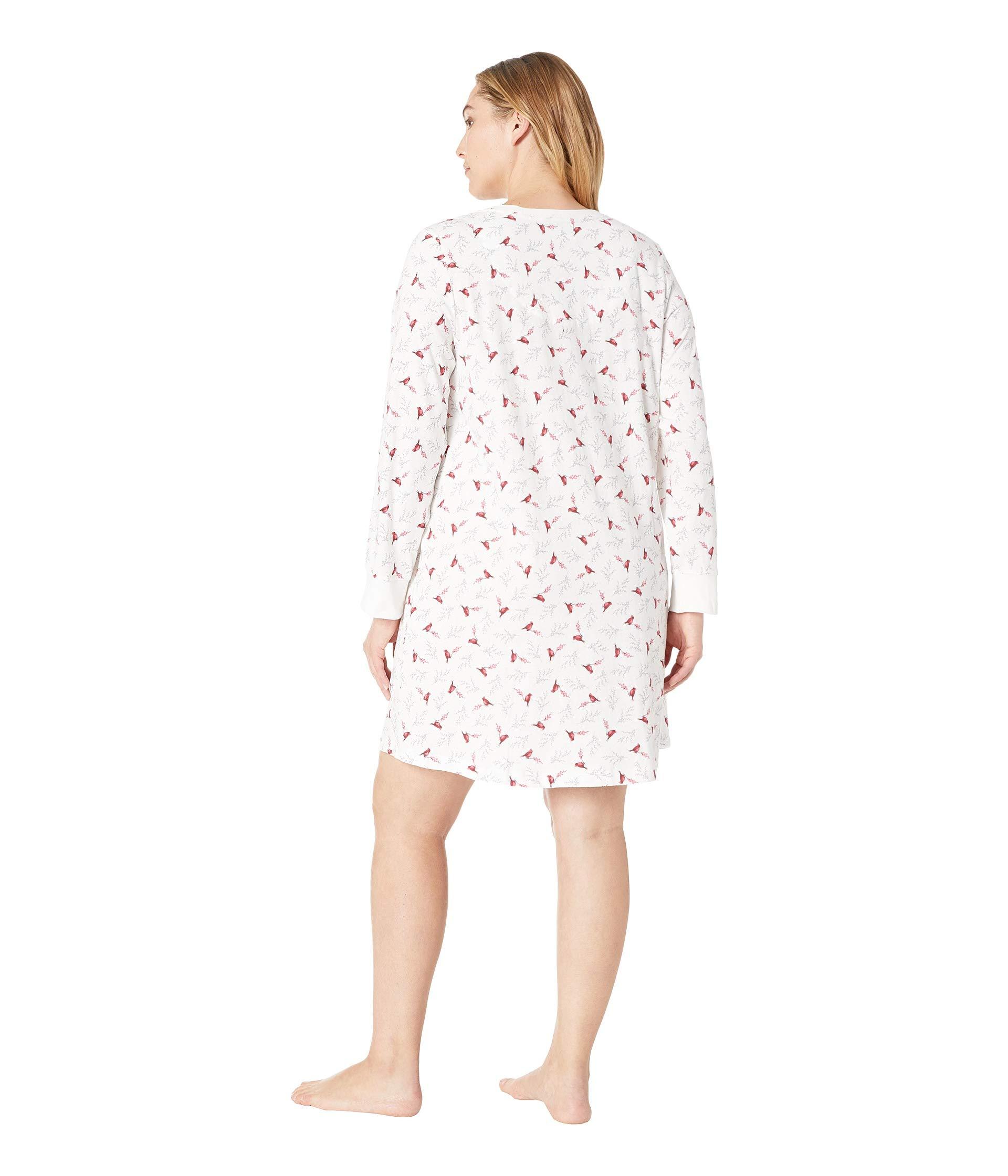 Jersey Carole Size Soft Hochman Sleepshirt Cardinals Plus xqwgf0OwF