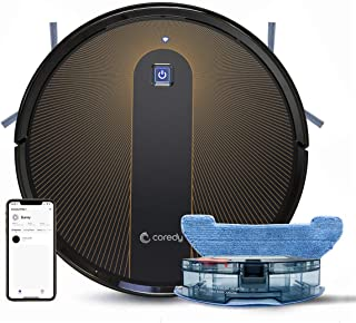 Coredy R750 Robot Vacuum Cleaner, Compatible with Alexa, Mopping System, Boost Intellect, Virtual Boundary Supported, 2000...