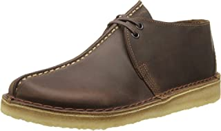 CLARKS Men's Desert Trek Beeswax Leather Boot 7.5 D (M)
