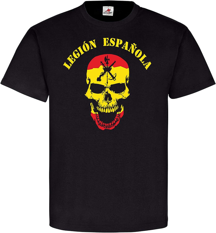 Legión Espanola Viva la Muerta - Camiseta de la Legión Española (#6616): Amazon.es: Ropa y accesorios