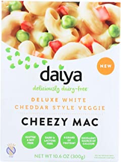 Daiya Foods Inc Cheezy Mac - Deluxe - White Cheddar Style Veggie - Dairy Free - 10.6 oz - case of 8