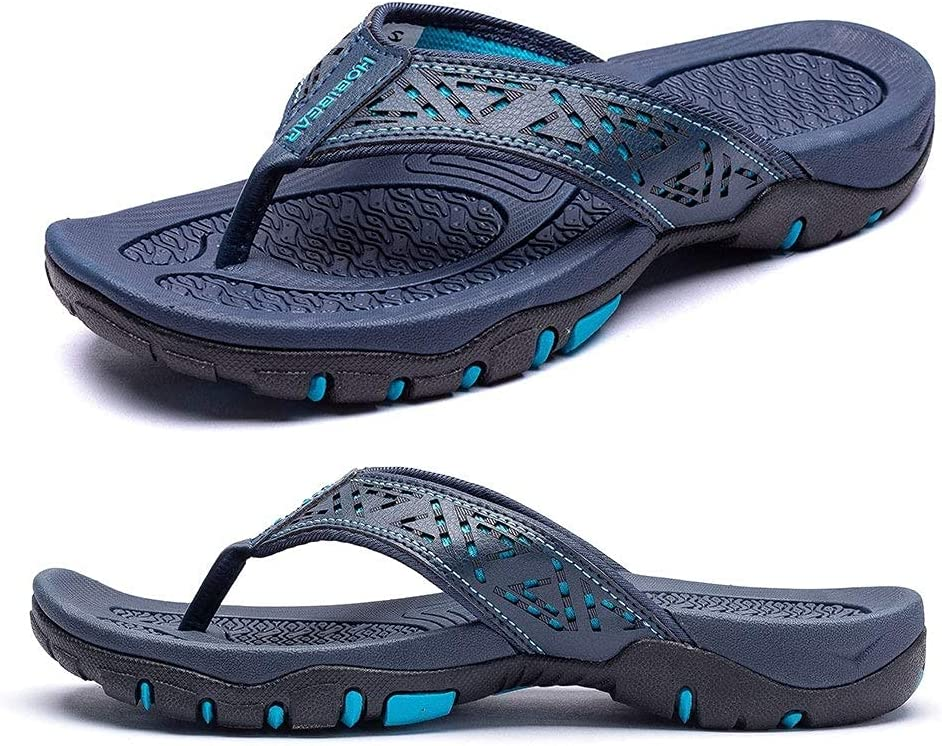 HOUFT Mens Large Size Super beauty product restock quality top Ranking TOP13 Sliders Flops Slippers Thongs Flip Sandals