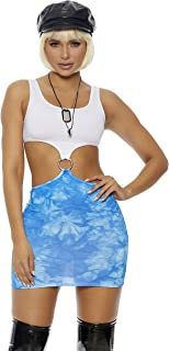 Women's Still Pretty Sexy Movie Character Costume Adult Costume, Blue