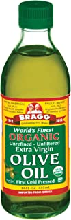 Bragg Organic Cold Pressed Olive Oil, 473 ml