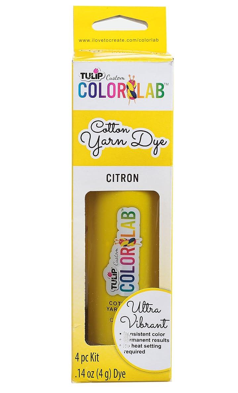 Tulip 34651 Custom Color Lab Cotton Yarn Dye, Citron