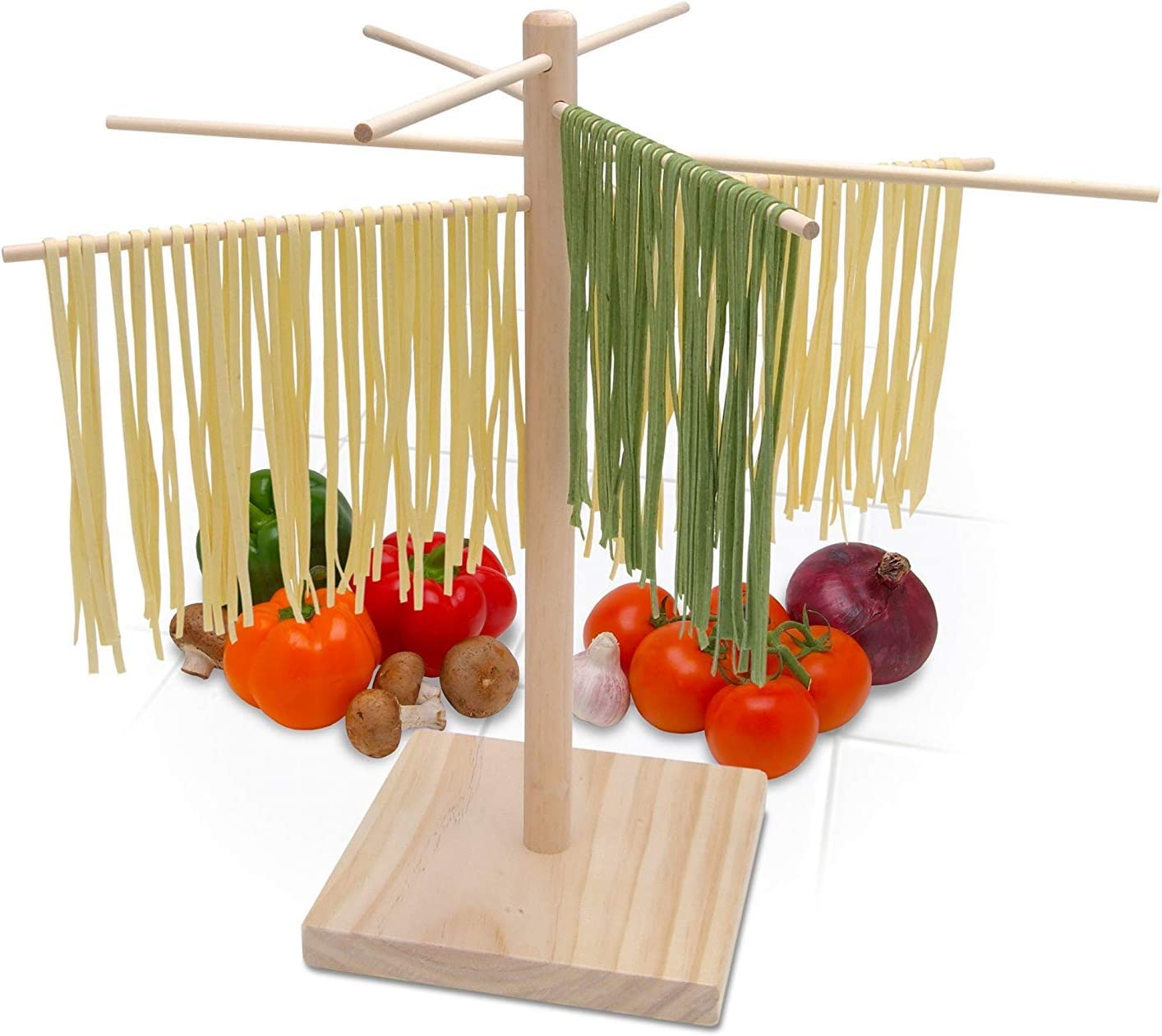 Bellemain 100% quality warranty Large Wood Surprise price Drying Pasta Rack