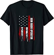 Ham Radio Operator American USA Flag Amateur Radio T-Shirt