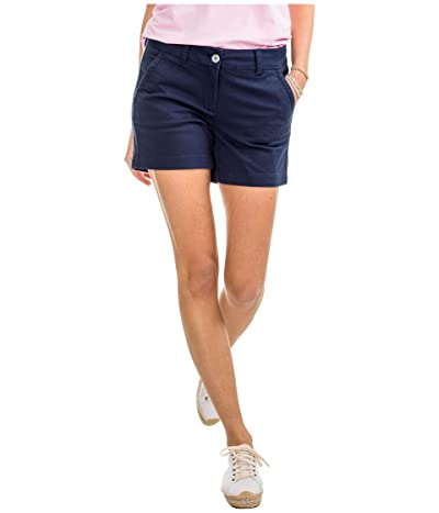Southern Tide 5 Caroline Shorts (Nautical Navy) Women