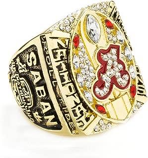 HTEGAE The Year of 2015 Men's New Alabama Championship Rings