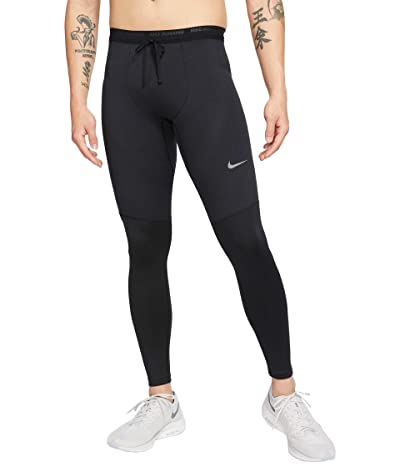Nike Dri-FIT Phenom Elite Tights (Black/Reflective Silver) Men