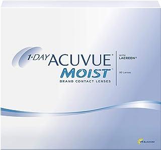 1-Day Acuvue Moist - Various Power - J&J - Daily Contact Lenses (90 Lenses/Pack) (-9.50, 8.5, 14.2, 90)