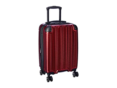 Kenneth Cole Reaction Wave Rush Collection 20 Carry-On Luggage (Warm Red) Luggage
