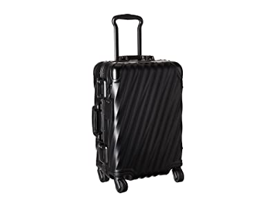 Tumi 19 Degree Aluminum International Carry-On (Matte Black) Carry on Luggage