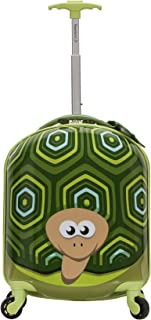 Jr. Kids' My First Luggage-Polycarbonate Hard Side Spinner, TURTLE