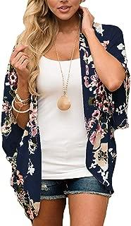 Kimono Swimsuit Cover-Up Caridgan Beach Loose Top for Women