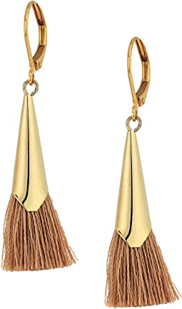 SHASHI - Neutral Jill Tassel Earrings