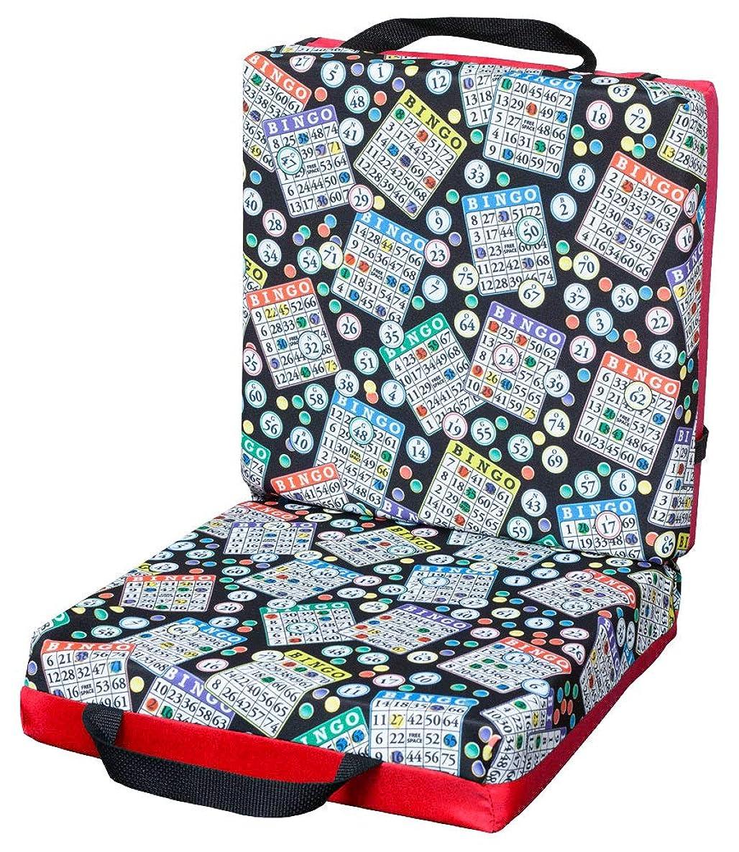ABS Novelties Bingo Pattern Double Cushion … (Red)