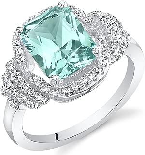 paraiba tourmaline engagement ring