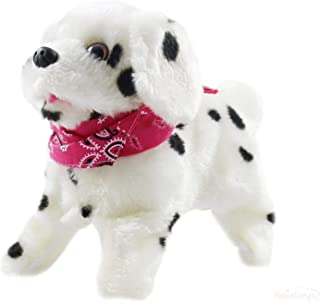 Baga Goodies Animated Toy Puppy Gift - Dog Flips Over, Walks, Sits, Barks, Somersaults