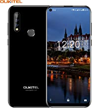OUKITEL C17 Pro Unlocked Smartphone, 4+64GB Triple Camera Phone Dual SIM Unlocked Cell Phone with Octa-Core 3900 mAh 6.35 Inches HD+ Screen Android 9.0 Mobile Phone (Black)
