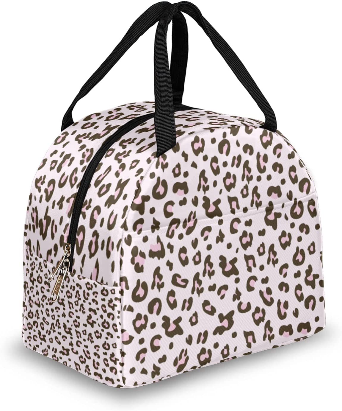Leopard Skin Printing Pattern Lunch SEAL limited product 5 popular Lun Insulated Bag for Women