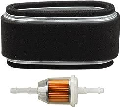 HIPA 11013-2110 Air Filter Fuel Filter for Kawasaki FC400V FC420V John Deere M97211 M74285 LX172 LX176 GT242 170 175 240 245 Lawn Mower Gravely 21391300