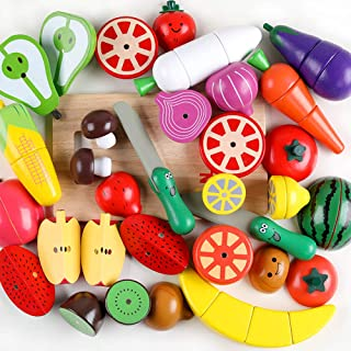 Best wooden play vegetables Reviews