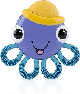 Nuby Vibe-EEZ Teether- Octopus