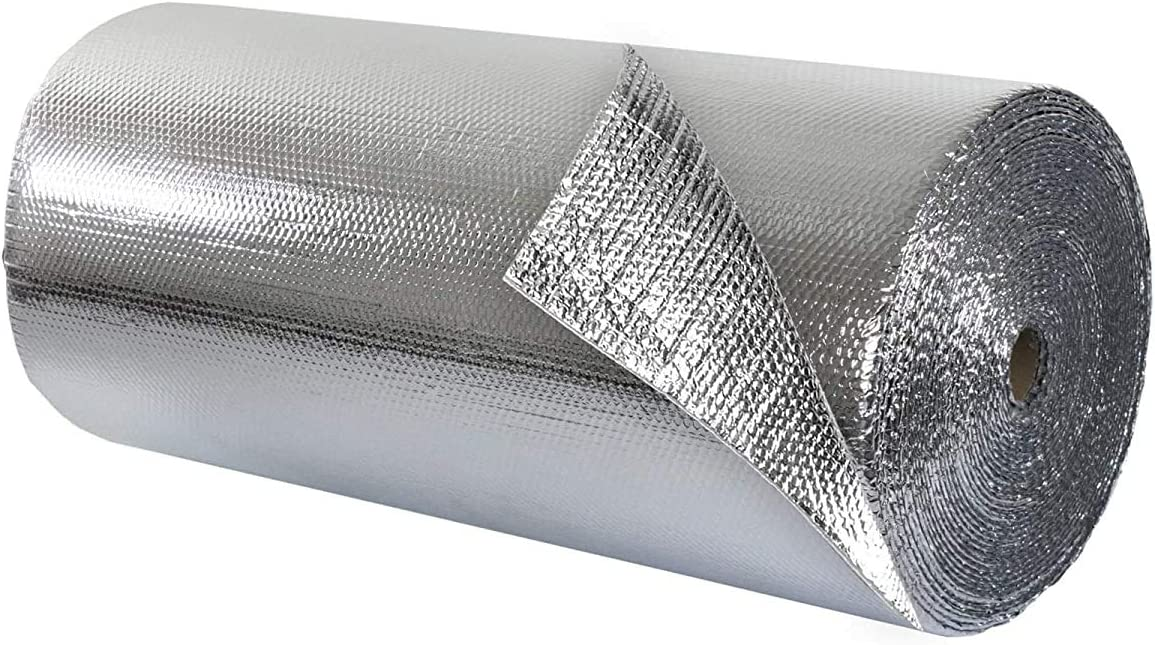 Double Max 84% OFF Bubble Insulation - Foil 2' … 50 25' Topics on TV sq ft x