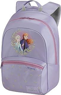 Samsonite Disney Ultimate 2.0 Mochila infantil (34 cm, 11 L), Morado (Frozen II)