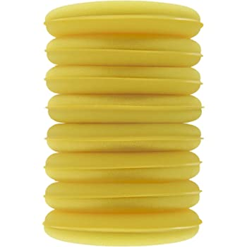 Yellow, 8 Pack, 4.3 in Polyte Foam Detailing Applicator Pad