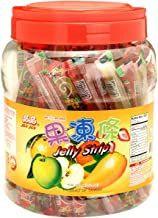 Jin Jin Jelly Stick-Jar, 1000 Gram (Pack of 6)