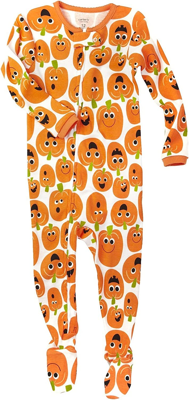Carter's Sleepwear Pumpkin One Piece - Orange