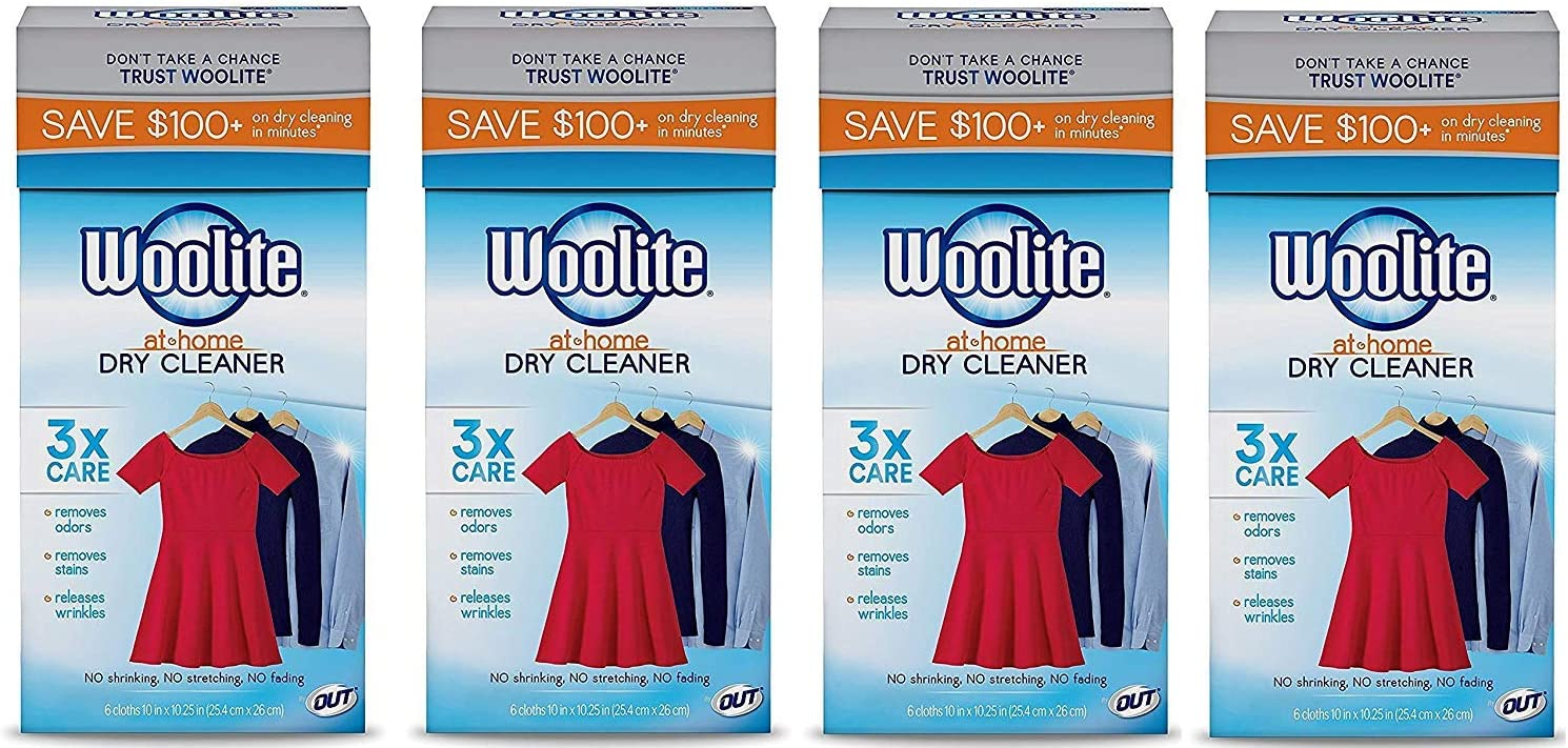 Wooliteat-Home Dry Cleaner, Fresh Scent, 24 Cloths