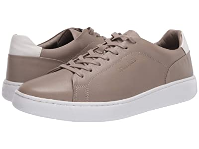 Calvin Klein Falconi (Taupe/Tumbled Leather/Tumbled Smooth/Brushed Smooth) Men