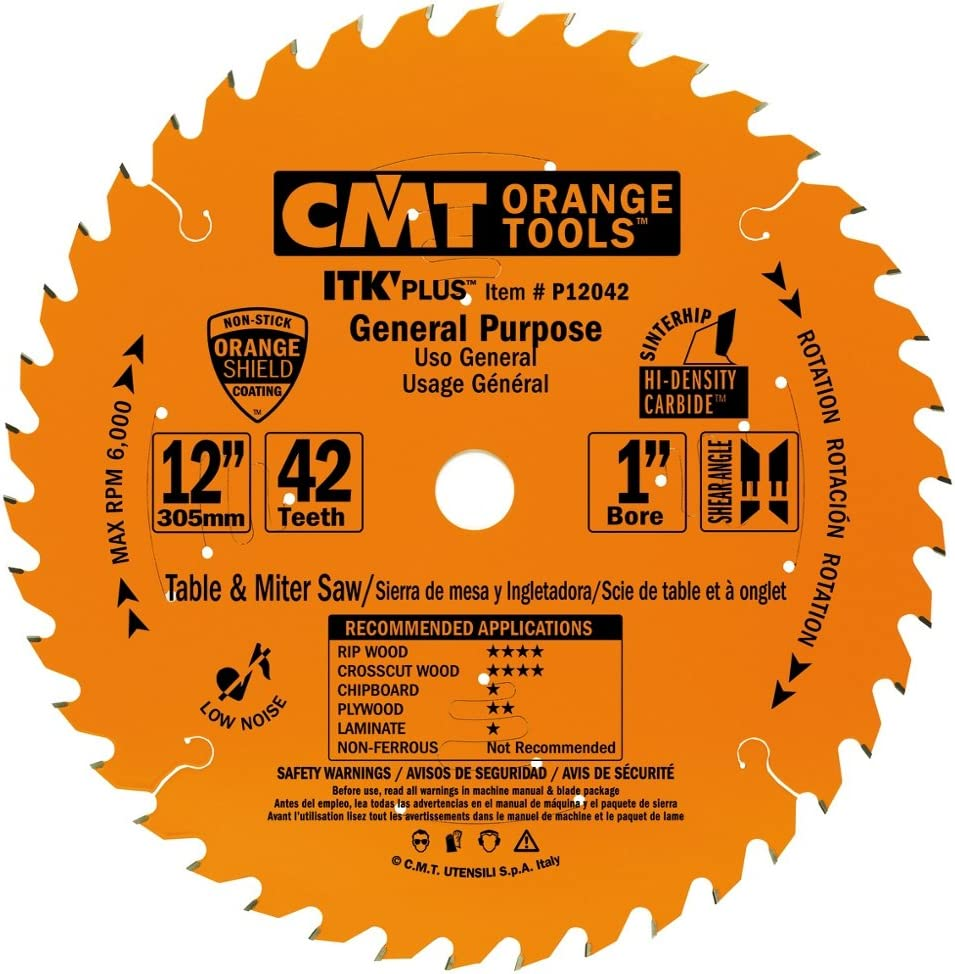 CMT P12042 Sales of SALE items from new works ITK Plus General Purpose Saw Teeth x 10 12 Blade 42 outlet