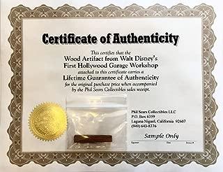 walt disney artifacts
