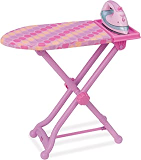 Play Circle by Battat – Best Pressed Ironing Board Set with Stand – Pink Iron with Working Light and Steam Sounds for Pret...