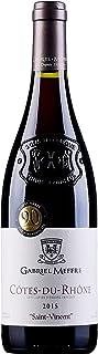 罗伯特帕克90分 法国罗纳河谷产区法定产区AOC 高大上的重型浮雕瓶身 凯慕世家干红葡萄酒单支750ml (法国进口红酒)